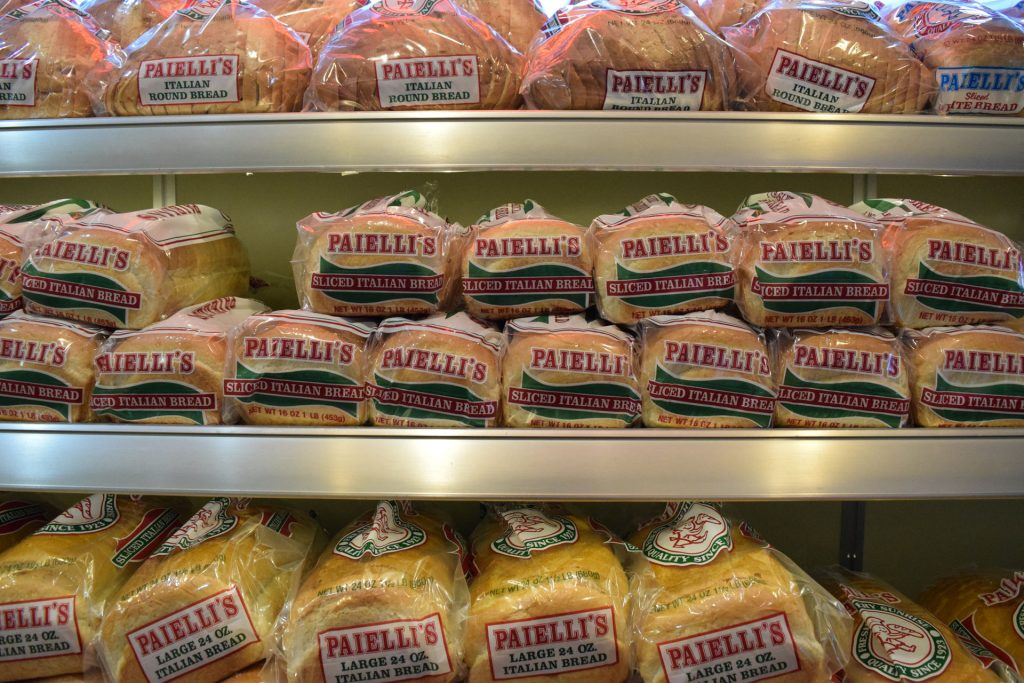 kenosha italian bread, paiellis bakery, best bread kenosha
